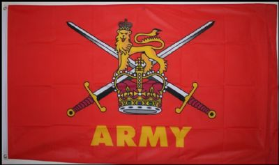 BRITISH ARMY - 3 X 2 FLAG
